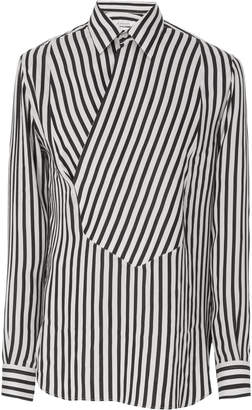 Givenchy Asymmetrical Stripe Dress Shirt