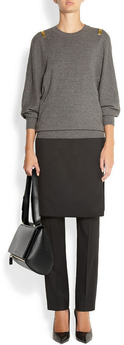 Givenchy Medium Pandora Box bag in black leather