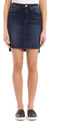 Mavi Jeans Mila Frayed Denim Skirt