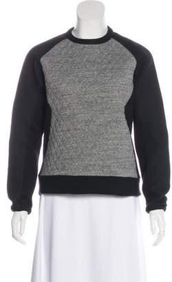 Rag & Bone Quilted Textured Sweatshirt