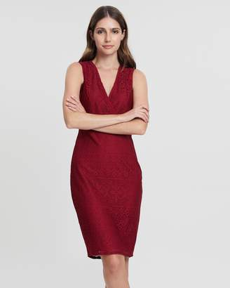 Dorothy Perkins Lily Wrap Body-Con Dress