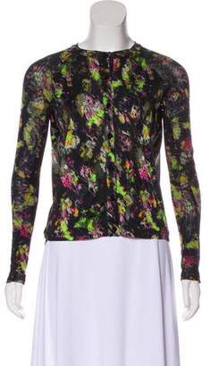 Jean Paul Gaultier Soleil Printed Button-Up Top