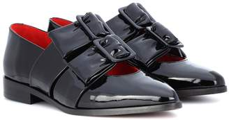 Ganni Idette patent leather loafers