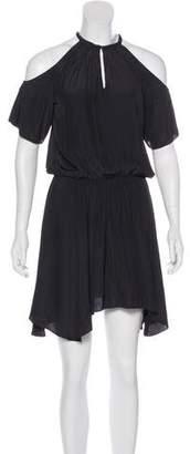 Ramy Brook Cold-Shoulder Mini Dress