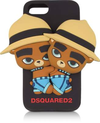 DSQUARED2 Black Silicone iPhone 7 Cover