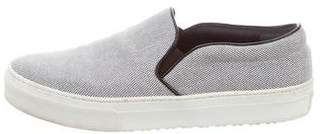 Celine Canvas Slip-On Sneakers