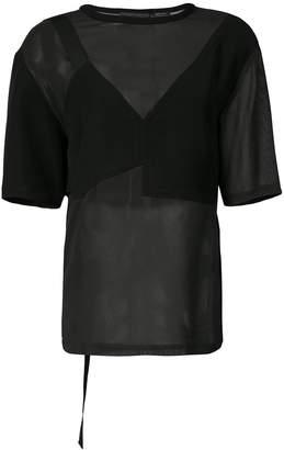 Yigal Azrouel sheer blouse