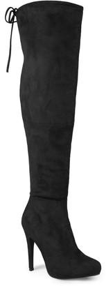 Journee Collection Magic Women's Over-the-Knee High-Heeled Boots