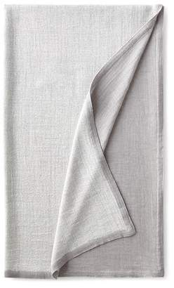 Sferra Gray Double-Faced Throw