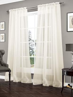 Vue Signature Carrington Sheer Curtain Panel