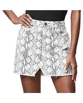 Frame Le Mini Python Skirt