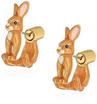 Kate Spade Womens Bunny Earrings Jacket