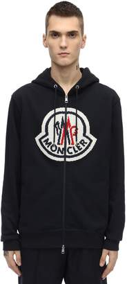 Moncler Genius LOGO ZIP-UP COTTON SWEATSHIRT HOODIE