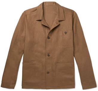 Anderson & Sheppard Linen Shirt Jacket
