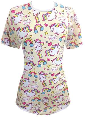 Una Daddy Dom/Little Girl Adult Baby Onesie (ABDL) Snap Crotch Romper Onesie Pajamas (l)