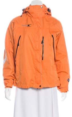 Spyder Hooded Zip-Up Jacket