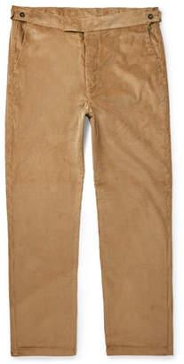 MAISON KITSUNÉ Nico Cotton-Corduroy Trousers