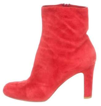 Christian Louboutin Suede Ankle Booties Suede Ankle Booties