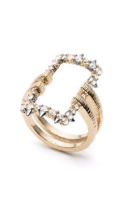 Alexis Bittar Oversize Link Ring