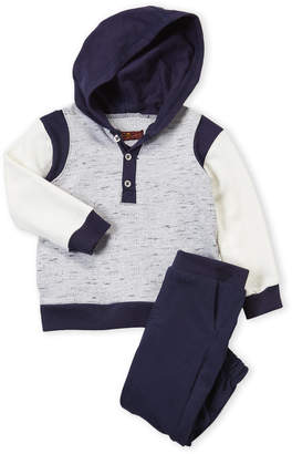 7 For All Mankind Infant Boys) Two-Piece Hoodie and Pants Set