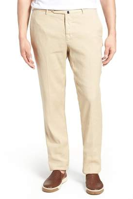 Incotex Flat Front Stretch Trousers