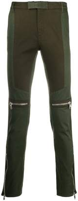 Givenchy slim-fit biker trousers