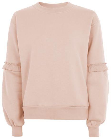 TopshopTopshop Extreme blouson sweatshirt