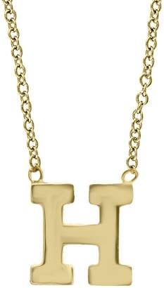 Effy 14K Yellow Gold Letter Pendant Necklace