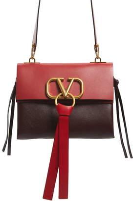 Valentino GARAVANI Small VRing Colorblock Buffalo Leather Shoulder Bag