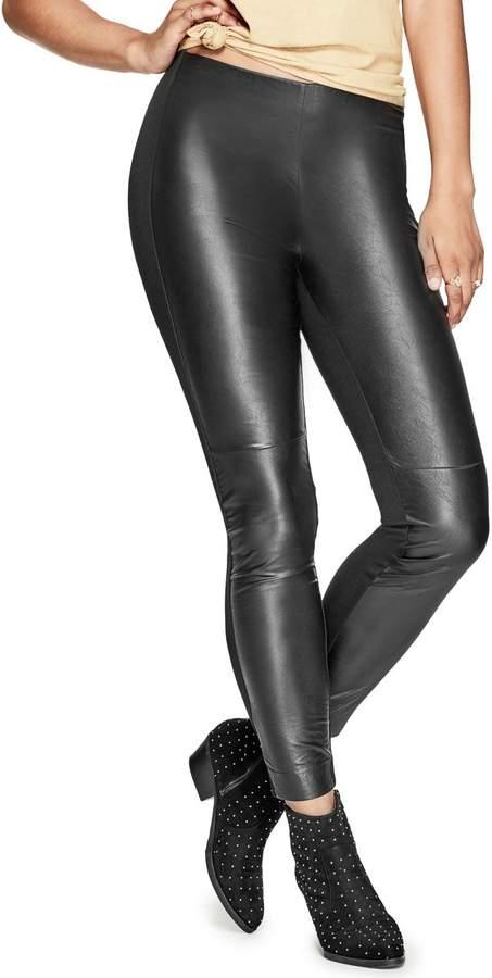 GUESS Women's Wesley Faux-Leather Leggings