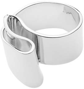 Dyrberg/Kern Sculpt Curve Cocktail Ring, Silver