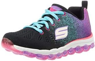Skechers Girls' Skech Air Ultra-Glitterbeam Low-Top Sneakers,11.5 Child UK (29 EU)