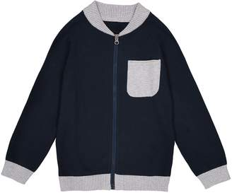 La Redoute Collections Zip-Up Cardigan, 3-12 Years
