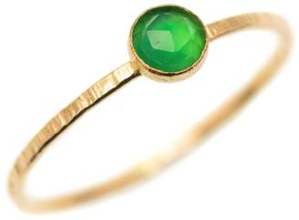 FEATHER+STONE - Gold Green Onyx Ring