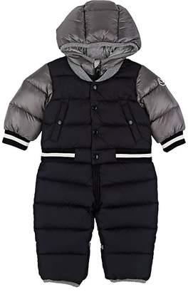 Moncler Infants' Colorblocked Tech-Fabric Snowsuit