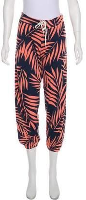 Monrow Mid-Rise Straight Leg Pants