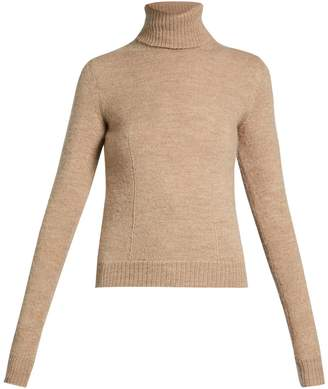 Stella McCartney Roll-neck wool-knit sweater