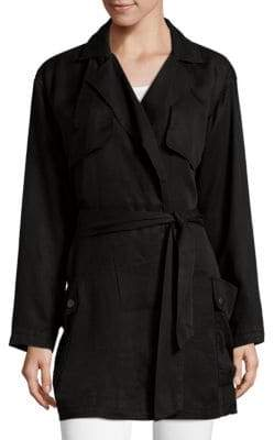 AG Adriano Goldschmied Short Trench Coat