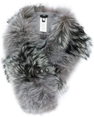 Fendi fox fur scarf
