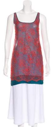 Stella McCartney Sleeveless Lace Tunic