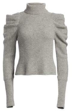 A.L.C. Moy Cashmere& Wool Turtleneck Sweater