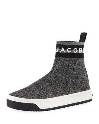 Marc Jacobs Dart Metallic Platform Sock Sneakers