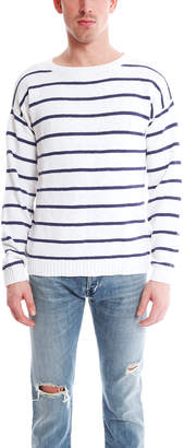 Shipley & Halmos Burgee Crew Sweater Stripe