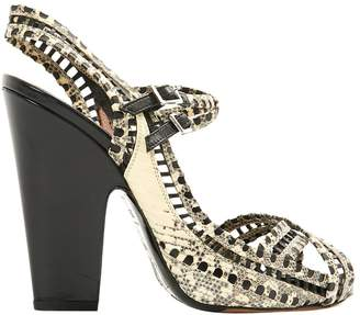 Pre-owned - Python sandal Tabitha Simmons New Arrival Online gnla9QYrX