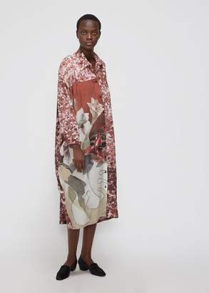 Anntian Long Sleeve Collared Dress