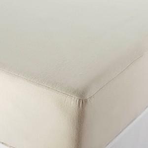Organic Cotton Mattress Protector Natural, King