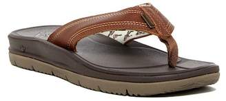 Freewaters Tall Boy Leather Flip Flop (Men)