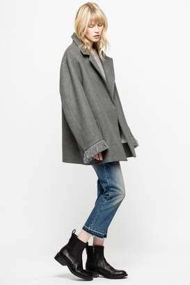 Zadig & Voltaire Mac Wool Coat