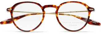 Barton Perreira Elon Round-Frame Tortoiseshell Acetate and Gold-Tone Titanium Optical Glasses