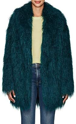 MM6 MAISON MARGIELA Women's Faux-Fur Coat - Dk. Green